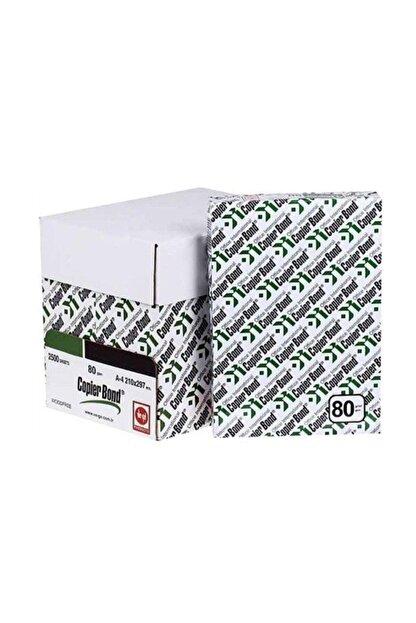 Copierbond Ve-ge Copier Bond A4 Fotokopi Kağıdı 80 G 500'lü 5 Paket 2500ad. 1 Koli