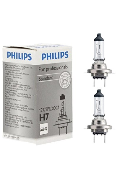 Philips H7 Ampul 12v 55w 12972proqc1 - 2 Adet