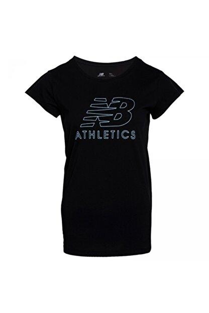 New Balance Kadın Siyah Tişört