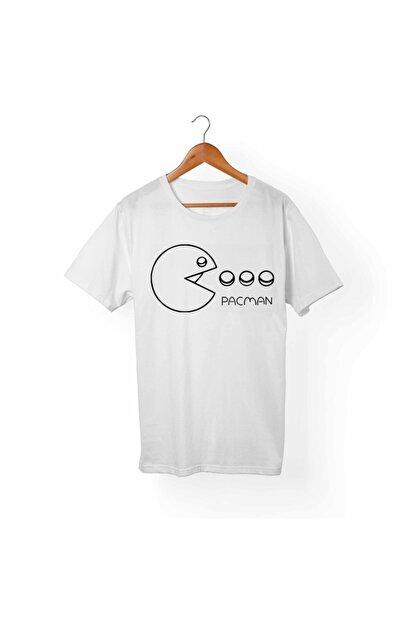 Alfa Tshirt Unisex Beyaz Baskılı T-shirt