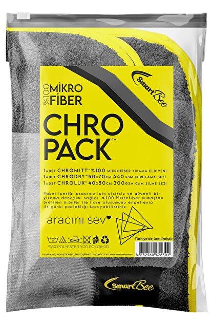 SmartBee Chropack Mikrofiber Oto Yıkama Paketi