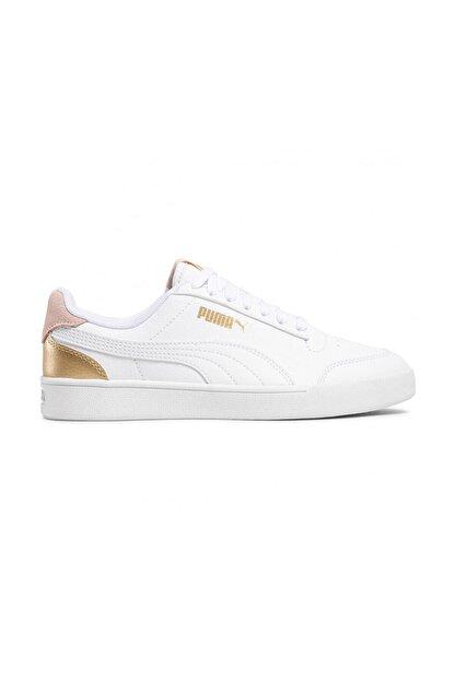Puma SHUFFLE Beyaz Kadın Sneaker Ayakkabı 101085434