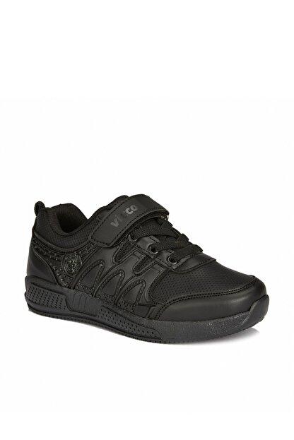 Vicco City Unisex Çocuk Siyah Spor Ayakkabı