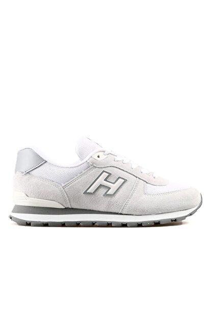 Hammer Jack Erkek Beyaz Bağcıklı Sneaker