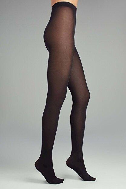 Penti Kadın Siyah Mikro 40 Külotlu Çorap