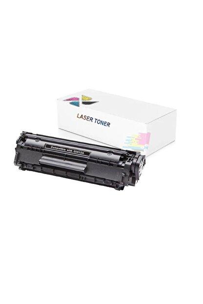 inkwell Hp Laserjet 1012 - Q2612a Uyumlu 2000 Syf Siyah Muadil Toner