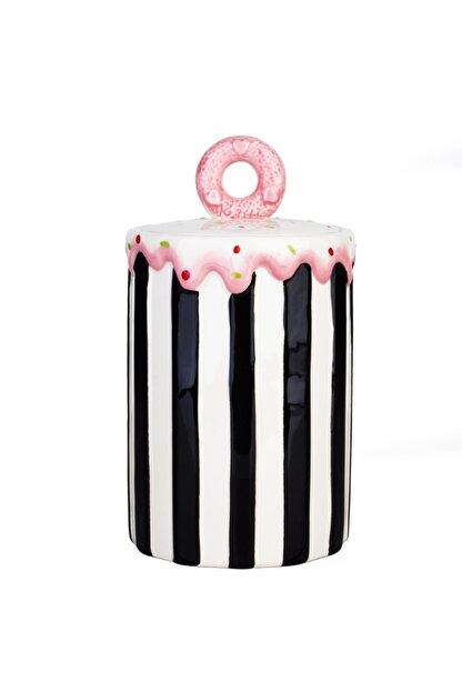 Acr Home Siyah Kavanoz Cupcake 21 cm