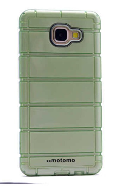 Dijimedia Galaxy A3 2016 Kılıf Zore Çizgili Motomo Kapak Yeşil