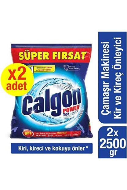 Calgon Çamaşır Makinesi 2500 Gr Kireç Önleyici Toz - 2 Adet