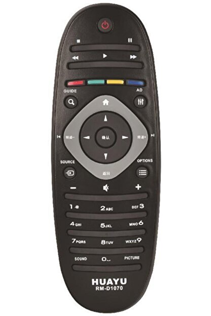 Philips Rm-d1070 Lcd-plazma-led Tv Kumandası