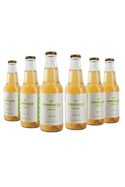 Kombuçça Yeşil Çay 6'lı Paket (ücretsiz Kargo) Kombucha - Kombuça - Probiyotik Kombu Çayı