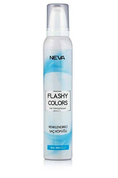 Flashy Colors Geçici Köpük Saç Boyası - Mavi