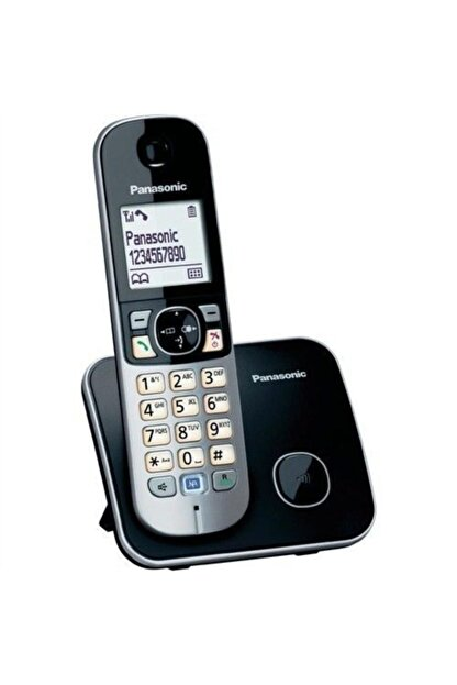 Panasonic Kx Tg6811 Dect Telefon ,siyah