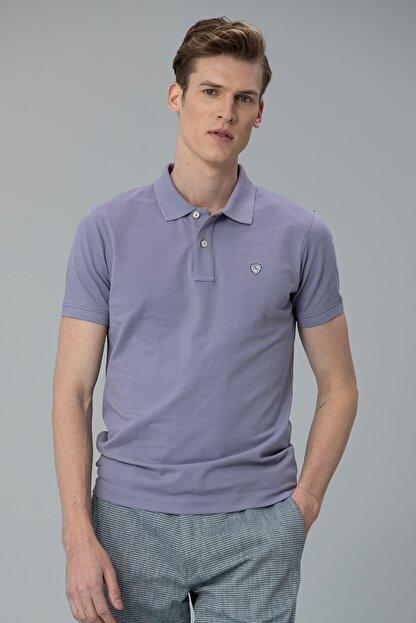 Lufian Laon Spor Polo T- Shirt Lila