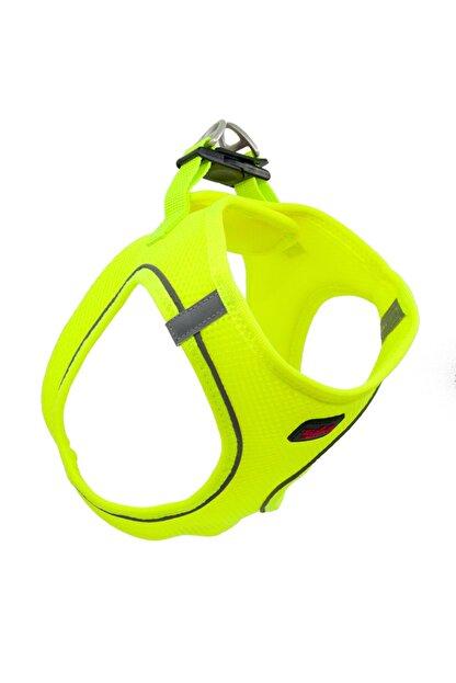 Tailpetz Airmesh Neon-sarı Göğüs Tasması Small