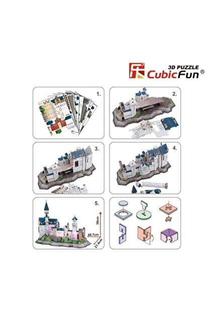 Cubic Fun 3d Puzzle Neuschwanstein Kalesi-almanya