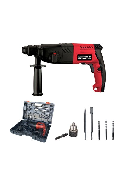 DBK Hammer Drill Hd620-24 Aksesuarlı Kırıcı Delici 620 Watt
