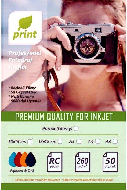 PRİNT Epson L3151 Fotoğraf Kağıdı Premium Parlak 260 Gr 10x15 50 Yaprak 50 Yaprak