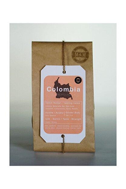 m&m M & M Coffee Roastery Colombia Supremo Kağıt Filtre Kahve 250 Gr
