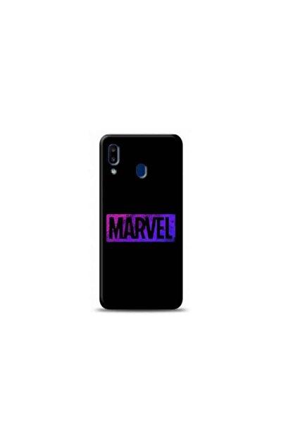 Kılıf Madeni Samsung A20s Marvel Tasarımlı Telefon Kılıf Y-mavengerskf0001