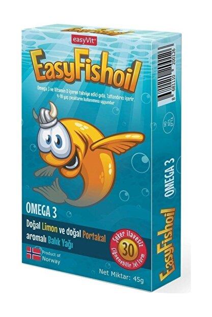 Easy Fishoil Easyvi?t Easyfishoil Omega 3 Çiğnenebilir 30 Jel Tablet