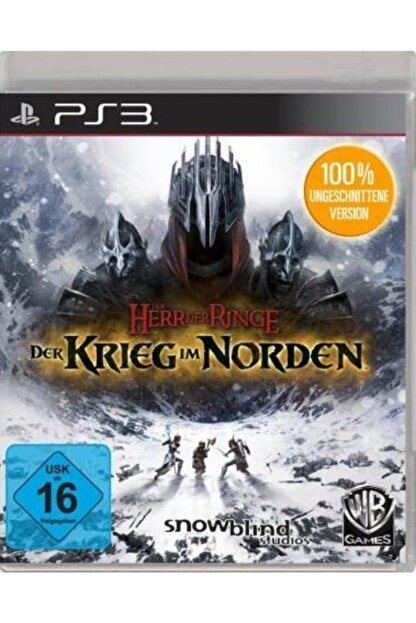 Wb Games Ps3 Der Herr Rınge Der Krıeg Im Norden - Orjinal Oyun - Sıfır Jelatin