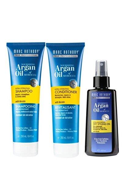 Marc Anthony Argan Oil 3 Lü Set(şampuan 250 Ml + Saç Kremi 250 Ml+ Saç Bakım Yağı 120 Ml)