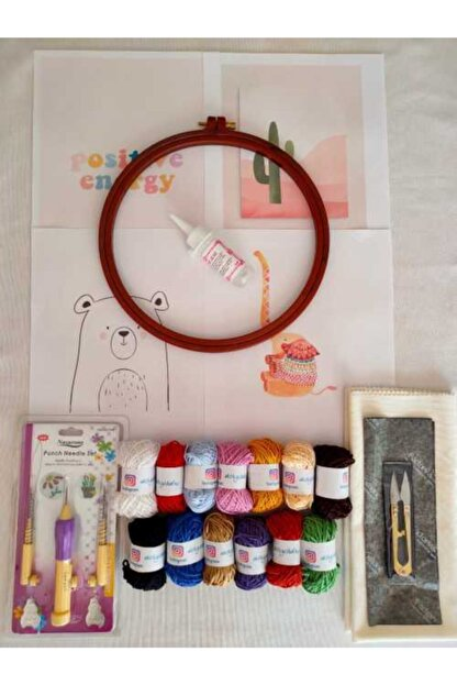 Dafne Dükkan Dafne Pastel Renkler Punch Başlangıç Seti
