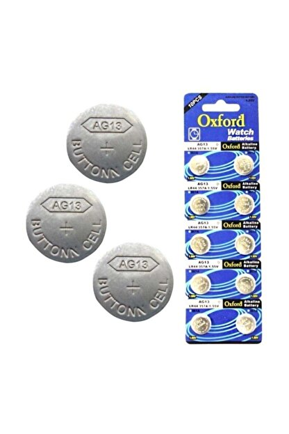Oxford Ag13 /lr44 1.5v Pil 10 Adet