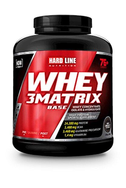 Hardline 3 Matrix Whey Protein Base Sütlü Çikolata 2300 Gr