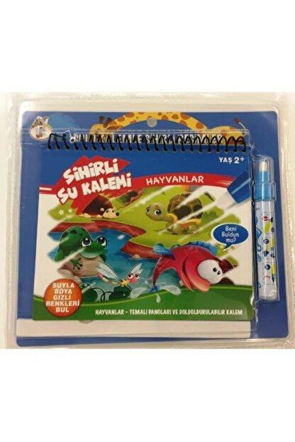 DEEMBRO Sihirli Boyama Kitabı Özel Kalemi Water Magic Boyama Sevimli Hayvanlar