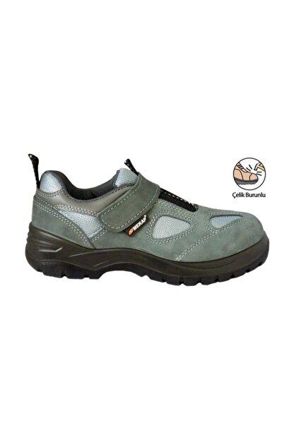 Mekap Yazlık Tip 157 Çelik Burunlu Cırtlı Ayakkabı 42 Numara