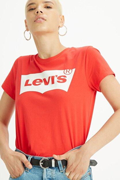 Levi's Kadın Kırmızı T-Shirt 17369-0792