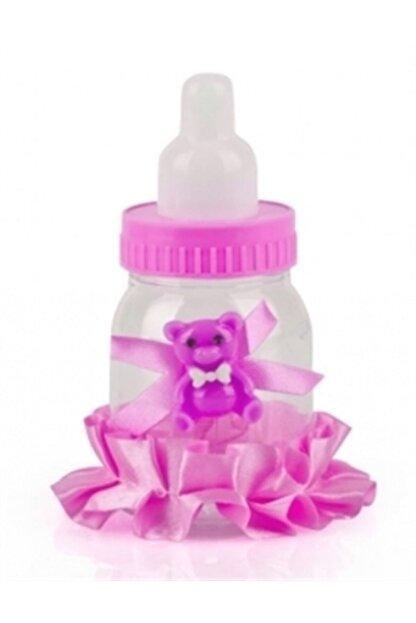 GÖKMUR Bebek Mevlüt Şekeri 12 Adet Birden - Pembe Biberon