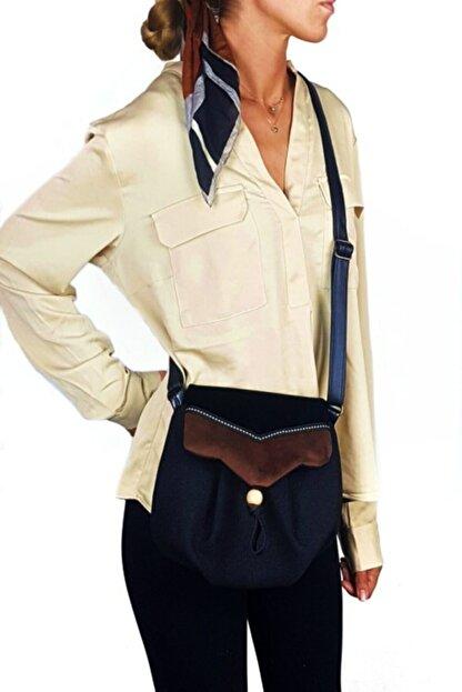 Ayşe Teyze'nin Çantaları Kadın Siyah Omuz Çantası Srn01