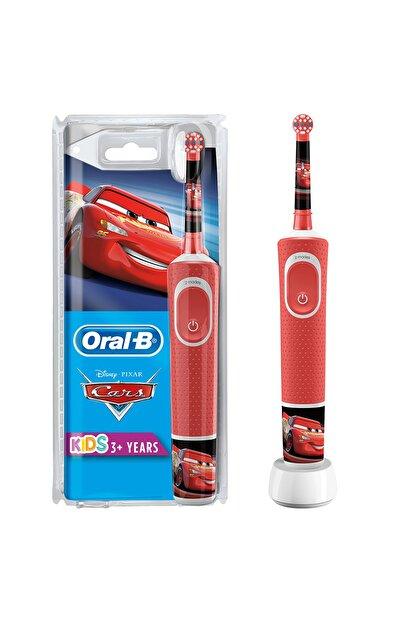 Oral-B Çocuklar Için Şarj Edilebilir Diş Fırçası D100 Cars Özel Seri