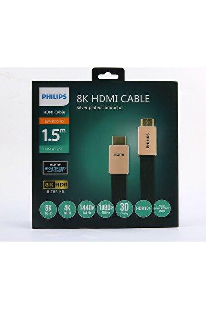 Philips Altın Uçlu Hdmı Kablo 1.5 m 8k  Swv8100
