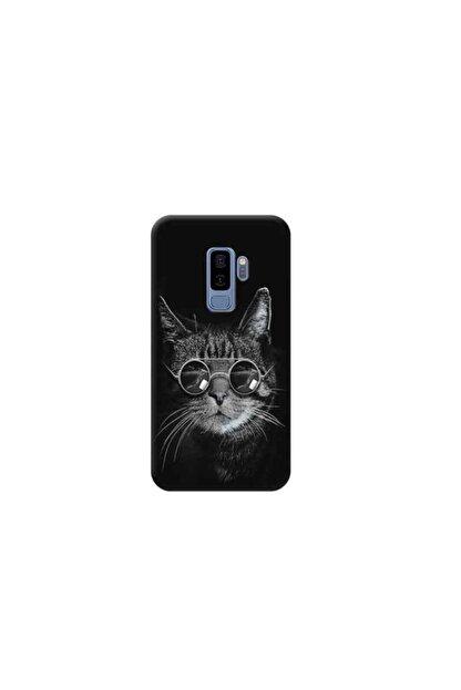 Kılıf Madeni Samsung Galaxy S9 Plus Kedi Tasarımlı Telefon Kılıfı Y-prnts029