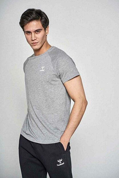 HUMMEL Erkek Hmltabıas T-shırt S/s Tee T-shirt