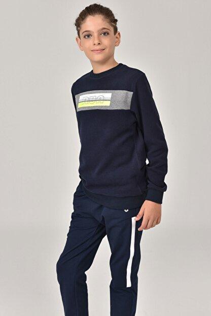 bilcee Erkek Çocuk Lacivert Sweatshirt FW-1430