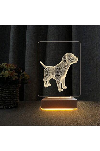 Vipyol Yavru Köpek 3d Çocuk Odası Gece Lambası