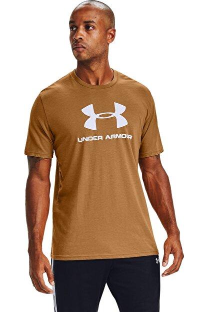 Under Armour Erkek Spor T-Shirt - Ua Sportstyle Logo Ss - 1329590-707