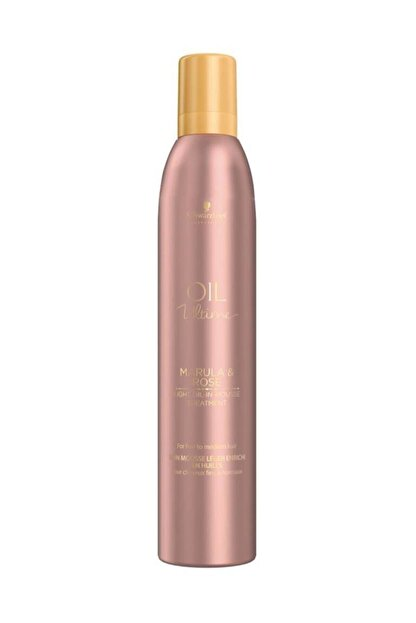 Schwarzkopf Schwarzkopf Oil Ultime Marula & Rose Light Oil Köpük Kür 500 Ml