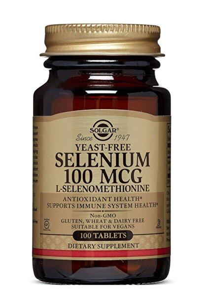 Solgar Selenium 100 Mcg 100 Tablet 033984025516