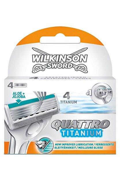 Wilkinson Quattro Titanium Precision 4 Lü Yedek