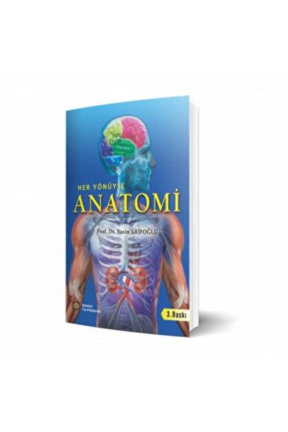 İstanbul Tıp Kitabevi Her Yönüyle Anatomi 3. Baskı