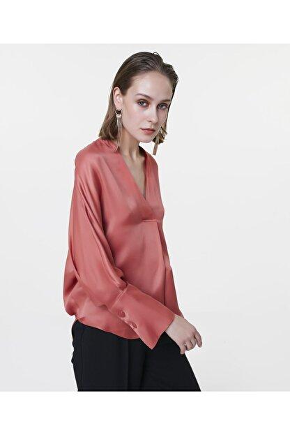 İpekyol Kadın Terracotta Over Size Bluz IS1200006122204