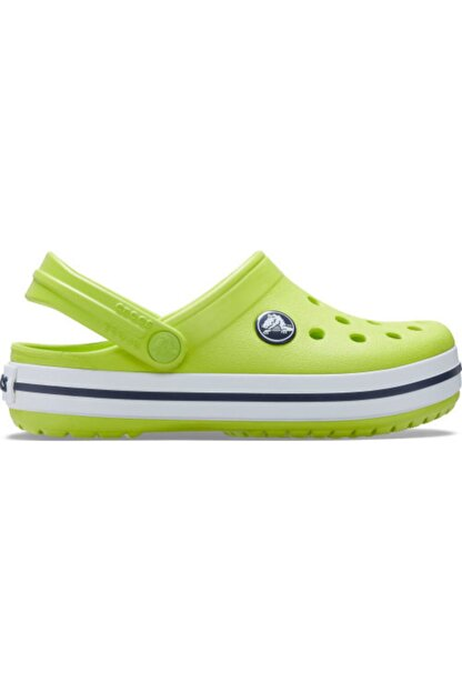 Crocs Çocuk Sarı Crocband Clog K Terlik Lime  204537-3tx