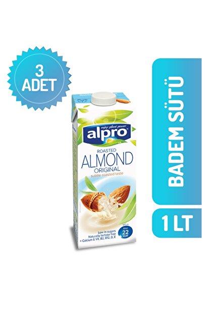 Alpro Badem Sütü 1 Lt X 3 Adet