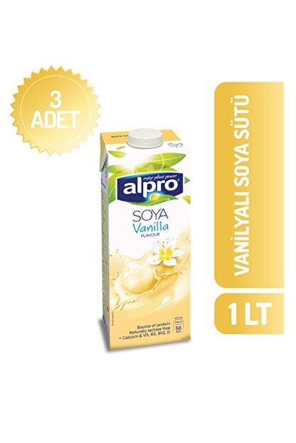 Alpro Vanilyalı Soya Sütü 1 Lt X 3 Adet